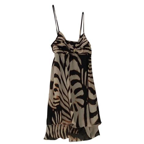 Robe courte ROBERTO CAVALLI Beige, camel