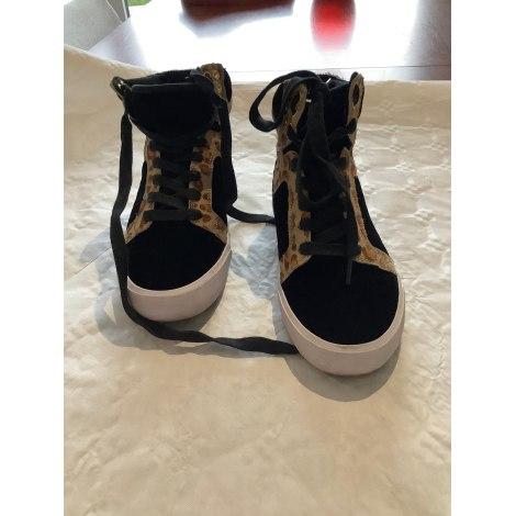 Sneakers SUPRA Noir leoparddaim