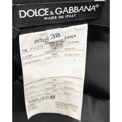 Jupe courte DOLCE & GABBANA Noir