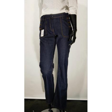 Jeans évasé, boot-cut UN JOUR AILLEURS Bleu, bleu marine, bleu turquoise