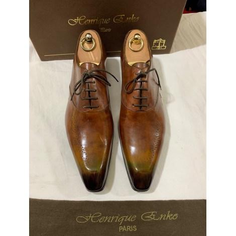 Lace Up Shoes HENRIQUE ENKO Multicolor