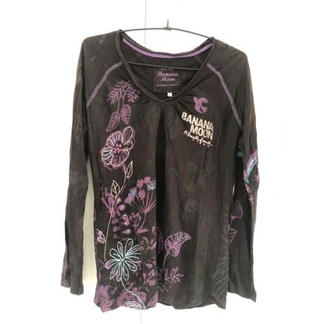 Top, tee-shirt BANANA MOON Marron