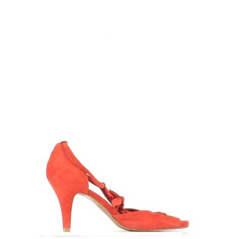 Flat Sandals MINELLI Red, burgundy
