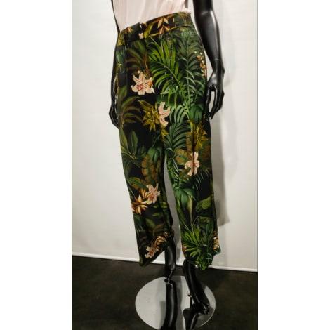 Pantalon large UN JOUR AILLEURS Vert