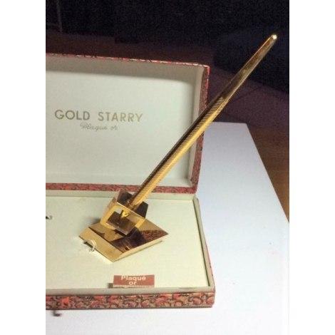 Cufflinks GOLD STARRY Golden, bronze, copper