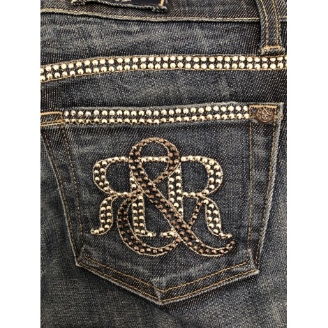 Jeans évasé, boot-cut ROCK & REPUBLIQUE Bleu, bleu marine, bleu turquoise
