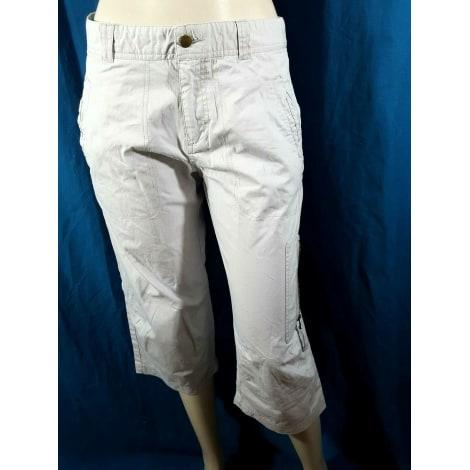 Bermuda JULES Blanc, blanc cassé, écru