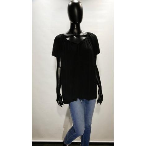 Top, tee-shirt UN JOUR AILLEURS Noir