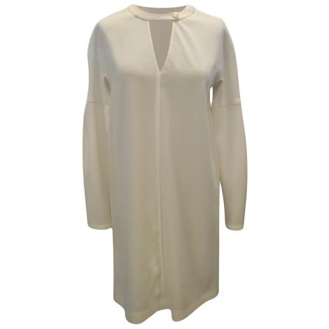 Robe mi-longue PATRIZIA PEPE Blanc, blanc cassé, écru