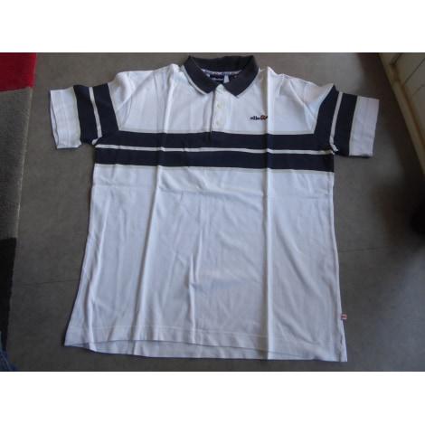 Polo ELLESSE Blanc, blanc cassé, écru