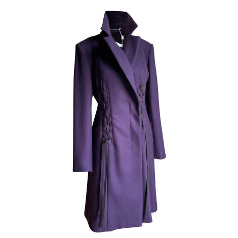 Manteau MAX MARA Violet, mauve, lavande