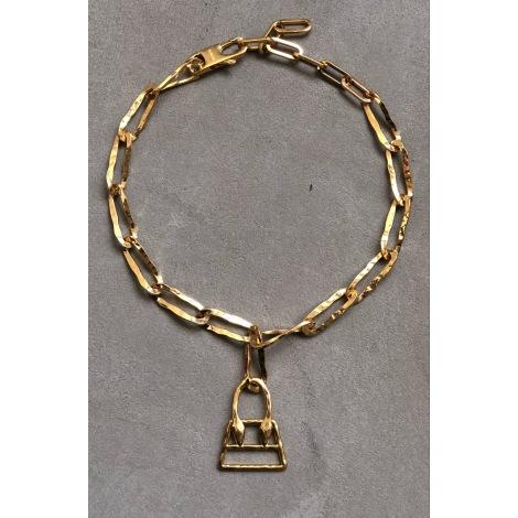 Collier JACQUEMUS Doré, bronze, cuivre