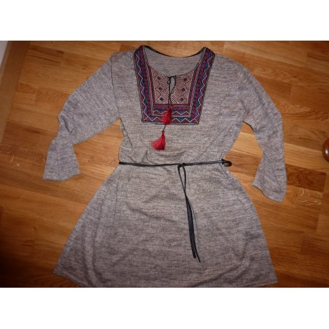 Robe courte MARQUE INCONNUE Multicouleur