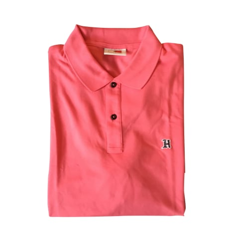 Polo TOMMY HILFIGER Rose, fuschia, vieux rose