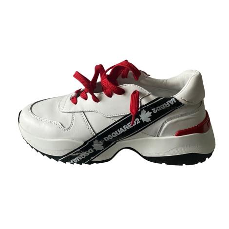 Sneakers DSQUARED2 Weiß, elfenbeinfarben