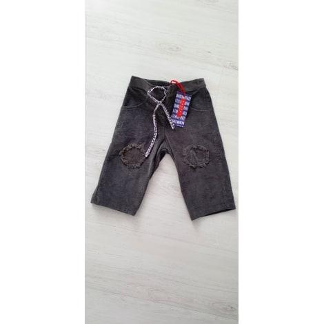 Pantalon BAKKER MADE WITH LOVE Gris, anthracite