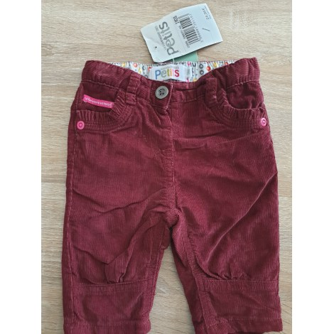 Pantalon LA COMPAGNIE DES PETITS Rouge, bordeaux