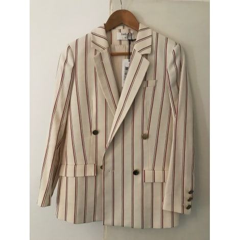 Veste BA&SH Blanc, blanc cassé, écru