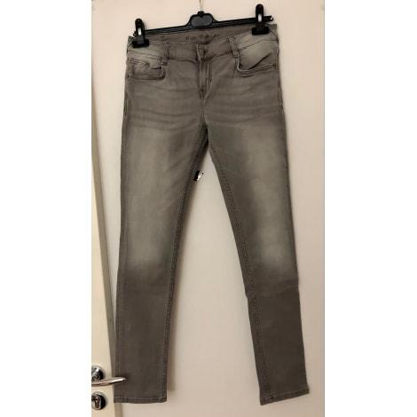 Jeans slim N.V.Y Gris, anthracite