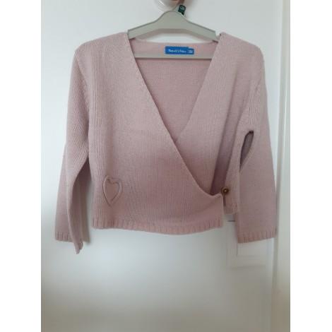 Vest, Cardigan BOUT'CHOU Pink, fuchsia, light pink