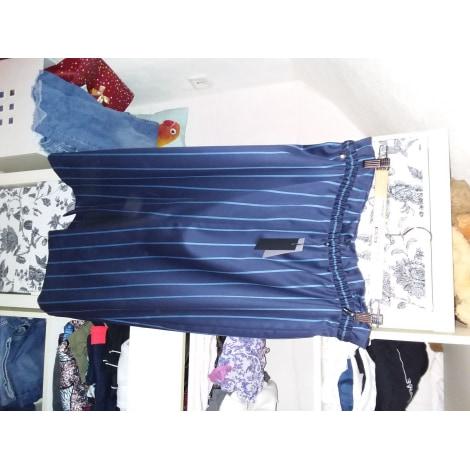 Jupe mi-longue COP-COPINE Bleu, bleu marine, bleu turquoise