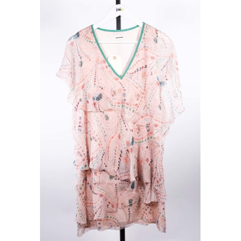 Robe courte ZADIG & VOLTAIRE Rose, fuschia, vieux rose