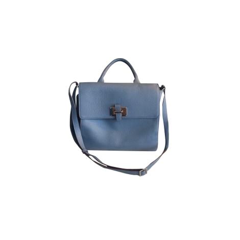 Lederhandtasche LE TANNEUR Blau, marineblau, türkisblau