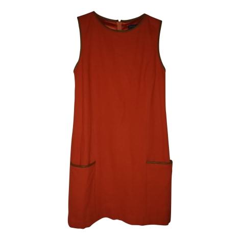 Robe courte RALPH LAUREN Orange