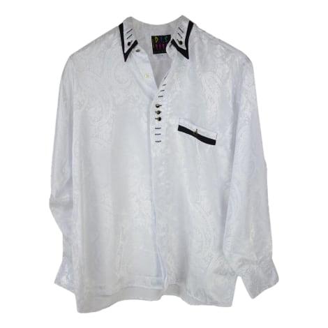 Chemise D.I.S Blanc, blanc cassé, écru