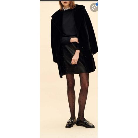 Manteau en fourrure CLAUDIE PIERLOT Noir
