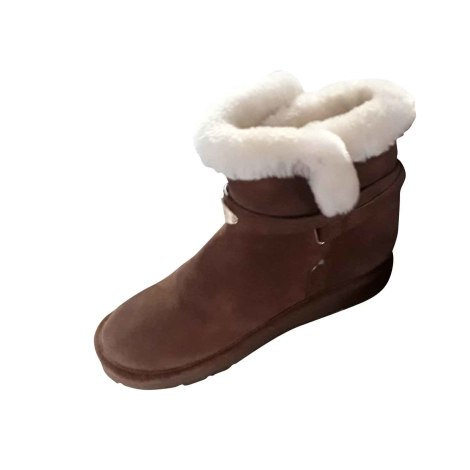 Bottines & low boots plates MICHAEL KORS Beige, camel