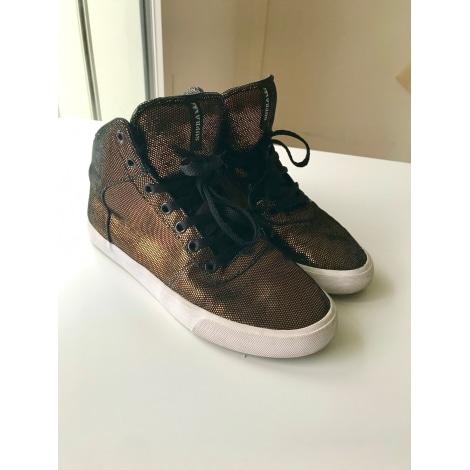 Sneakers SUPRA Golden, bronze, copper