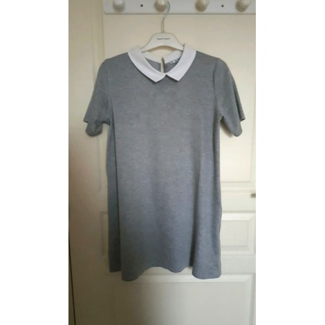 Robe courte PULL & BEAR Gris, anthracite