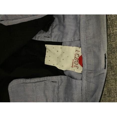 Pantalon carotte I. CODE Noir