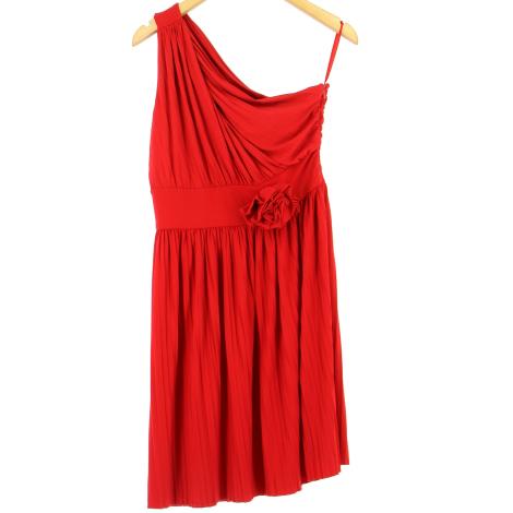 Robe mi-longue ALAIN MANOUKIAN Rouge, bordeaux