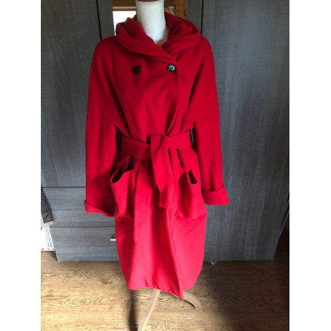 Manteau VINTAGE Rouge, bordeaux