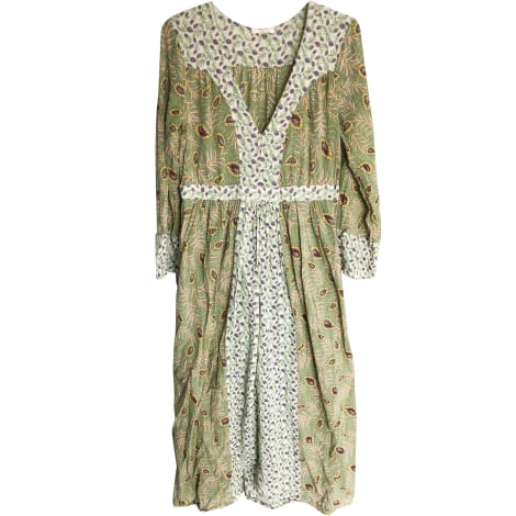 Robe longue BA&SH Vert