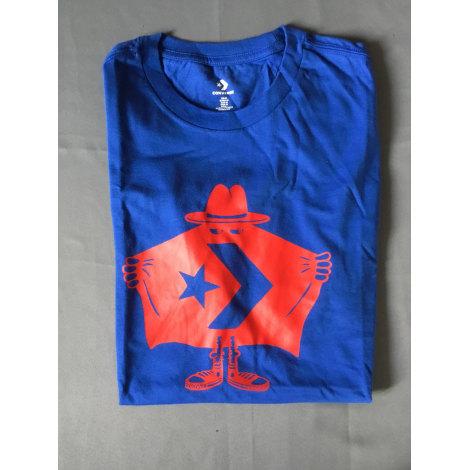 Tee-shirt CONVERSE Bleu, bleu marine, bleu turquoise