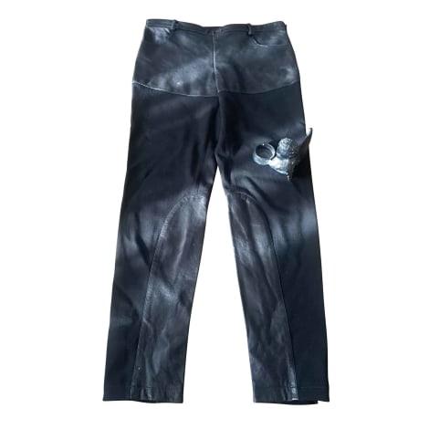 Pantalon slim, cigarette JEAN PAUL GAULTIER Noir