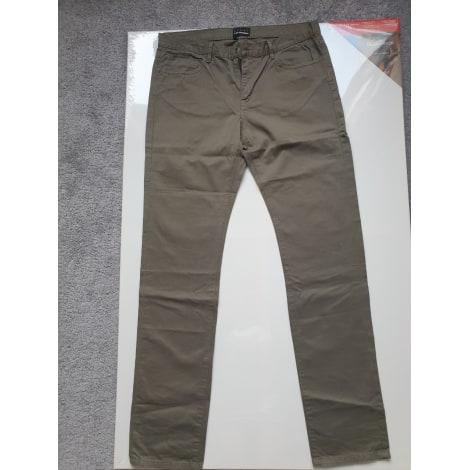 Pantalon droit THE KOOPLES Kaki