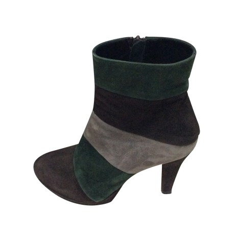 High Heel Ankle Boots ZADIG & VOLTAIRE Multicolor