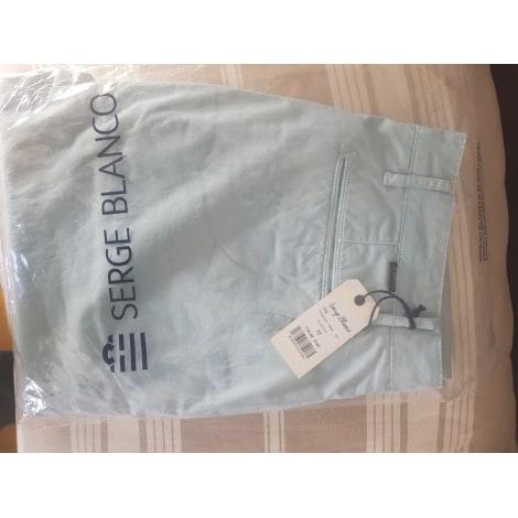 Pantalon droit SERGE BLANCO Vert