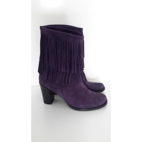 Bottines & low boots à talons WONDERS Violet, mauve, lavande