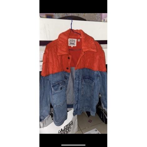 Veste en jean LEVI'S Blue and Red