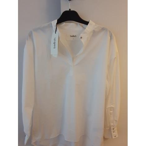 Chemise BA&SH Blanc, blanc cassé, écru