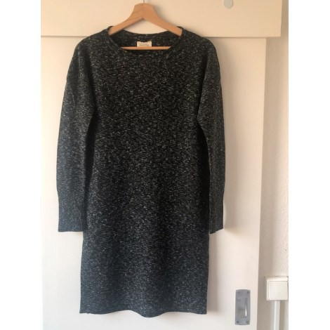 Robe pull AMERICAN VINTAGE Gris, anthracite