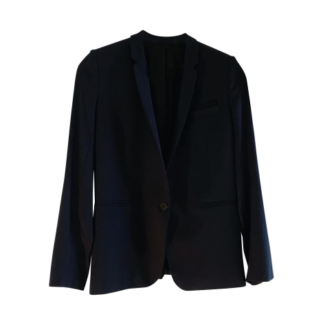 Tailleur pantalon THE KOOPLES Bleu, bleu marine, bleu turquoise