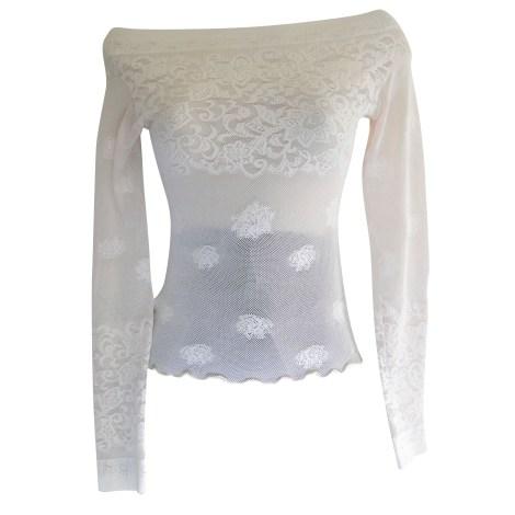 Top, tee-shirt PAIN DE SUCRE Blanc, blanc cassé, écru
