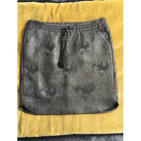 Jupe courte SOFT GREY Doré, bronze, cuivre