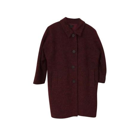 Manteau COS Rouge, bordeaux